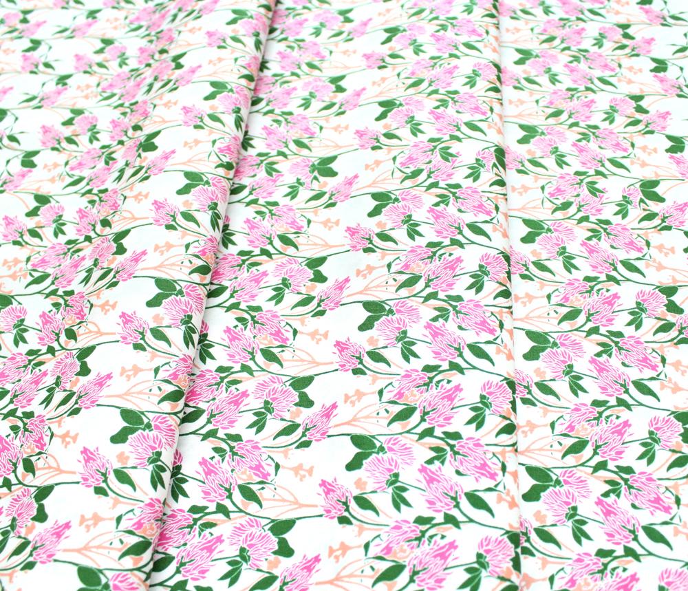 Art Gallery Fabrics Rainforest Fusion Clover Grove Rainforest