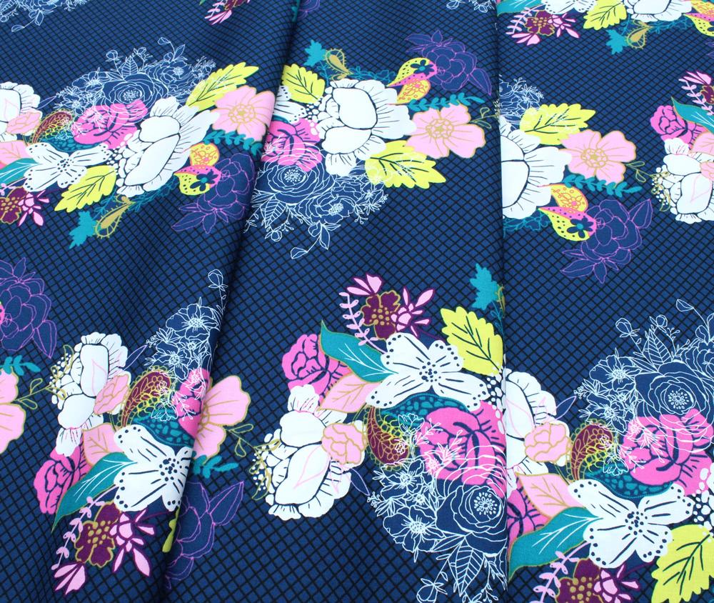 Art Gallery Fabrics Virtuosa Flowerdrama Notte