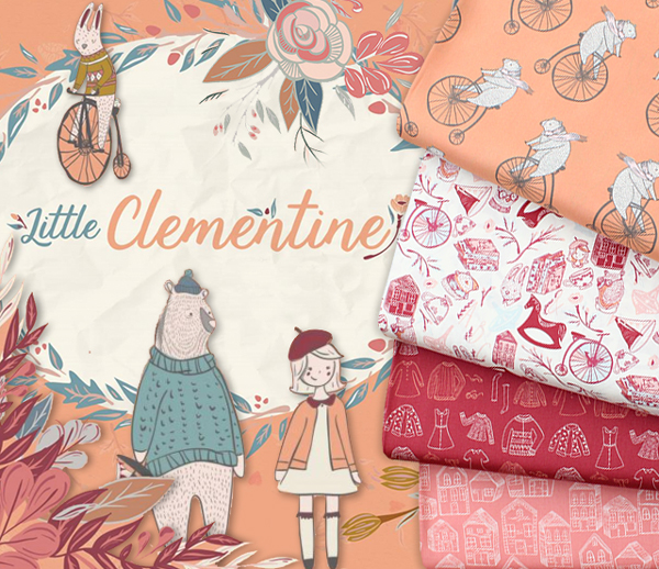 Art Gallery Fabrics Little Clementine Collection 入荷