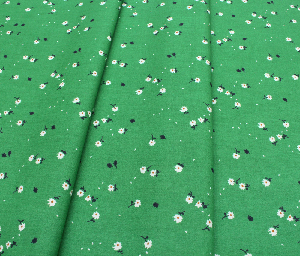 Birch Fabrics Whistle Forest Daisies