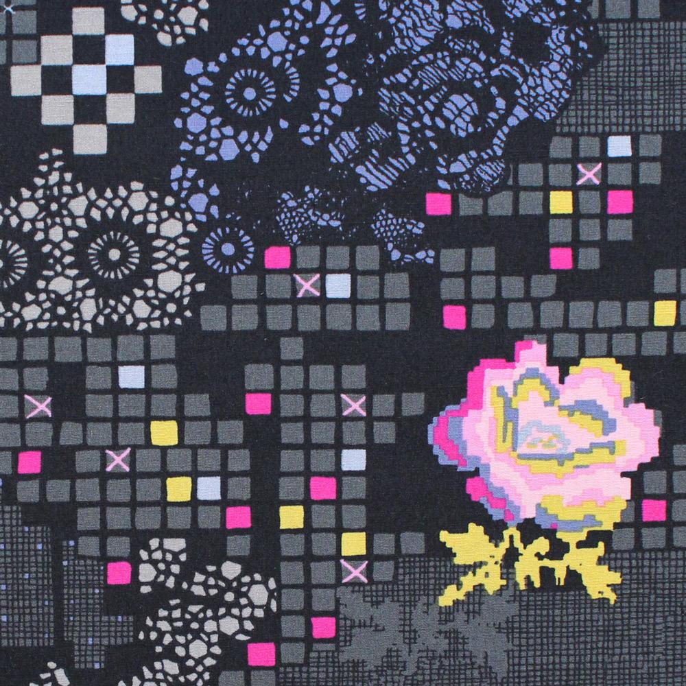 """クール!かっこいい生地 Art Gallery Fabrics """"Grid"""""""