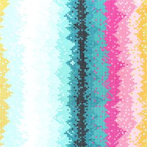 Art Gallery Fabrics Grid Lightwave Ignite