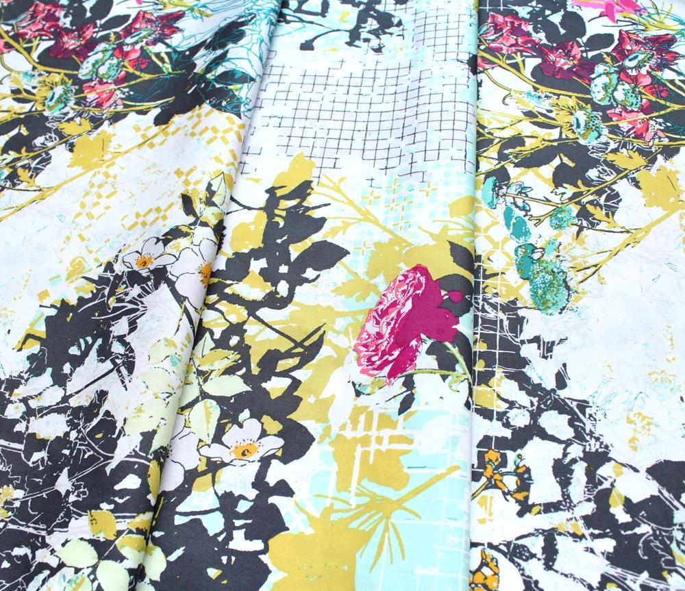 Art Gallery Fabrics Grid Framework Albarise