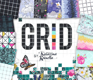Art Gallery Fabrics Grid Collection by Katarina Roccella