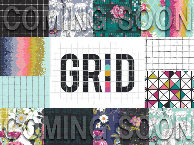 近日入荷予定 Art Gallery Fabrics Grid Collection