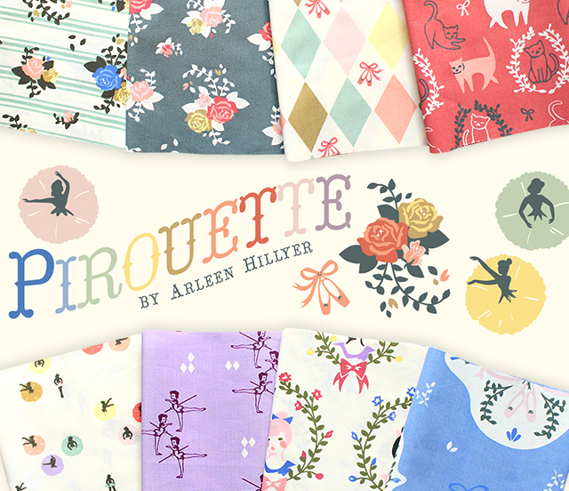 Birch Fabrics Pirouette Collection 入荷