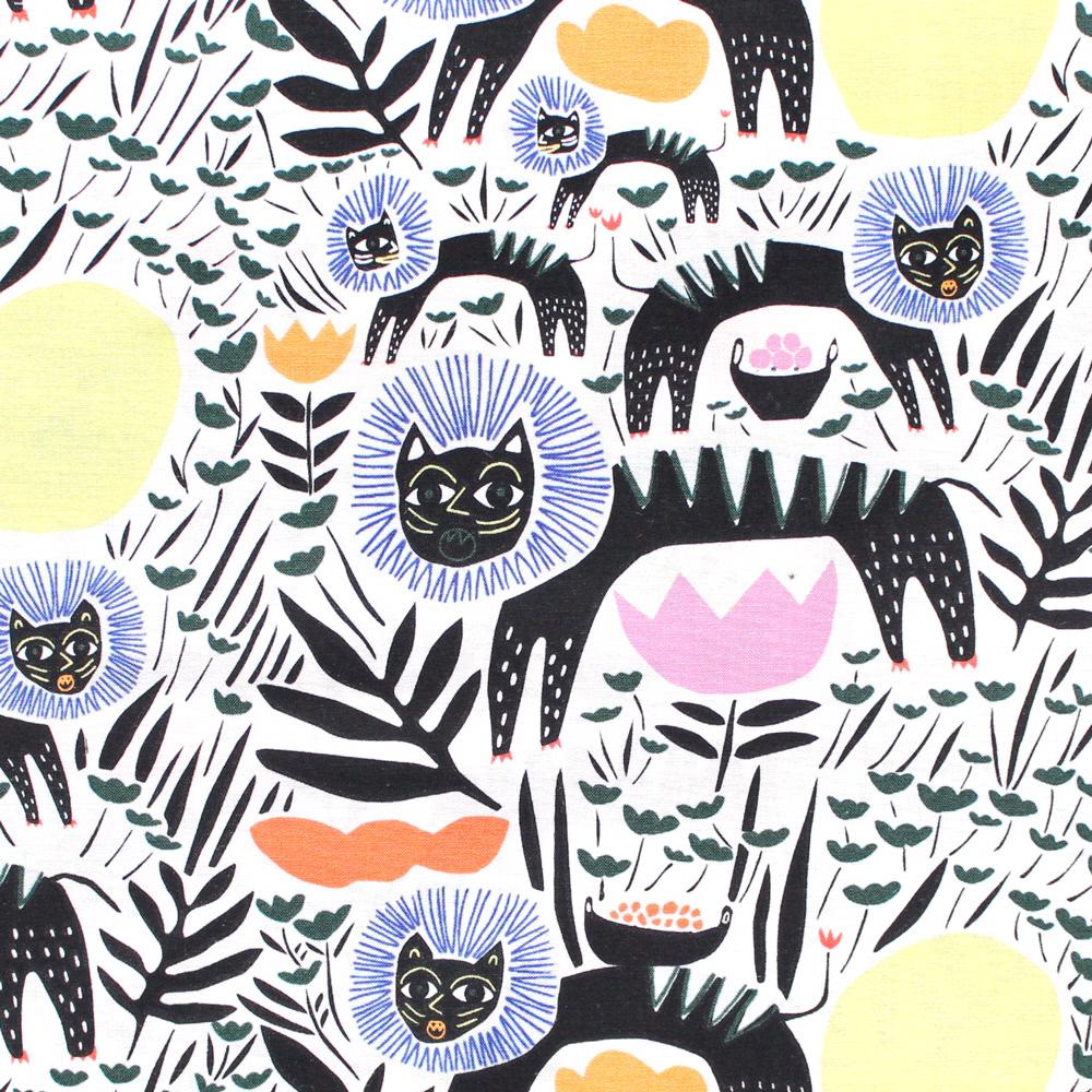 へんてこ?インパクト大の動物柄 Wild by Leah Duncan