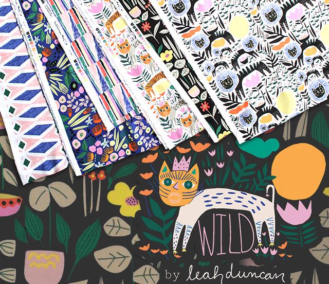 Cloud9 Fabrics Wild Collection 入荷