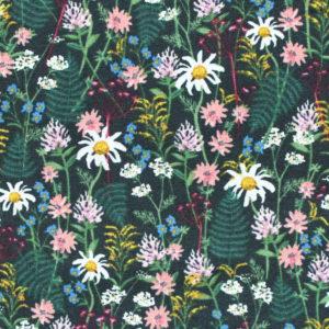 COTTON+STEEL Wildwood RP106-HU3 Wildflowers - Hunter