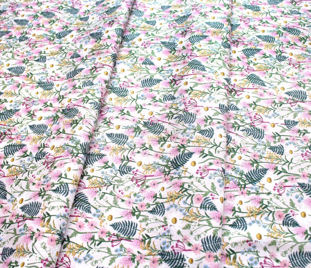 COTTON+STEEL Wildwood RP106-PI2 Wildflowers - Pink