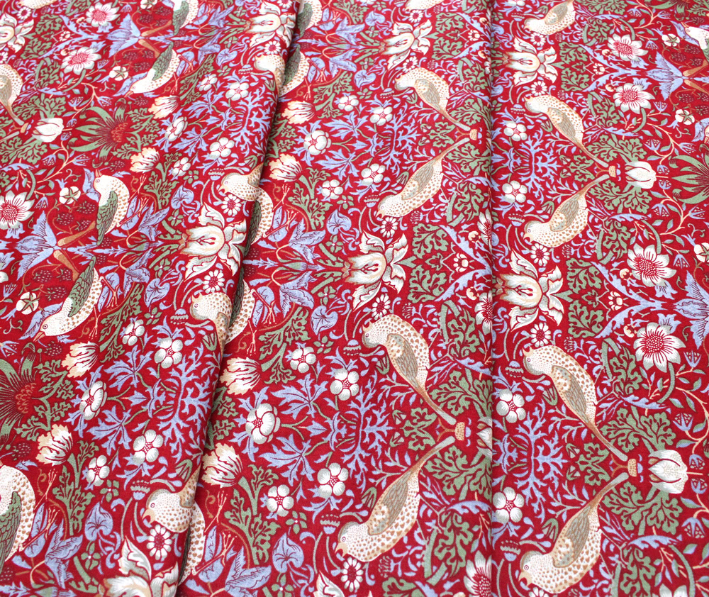 Moda Fabrics Best of Morris 8176-47 Strawberry Thief