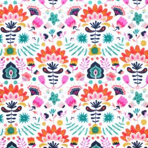 Art Gallery Fabrics Lugu Efflorescent Vivid