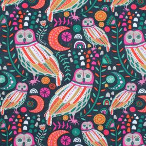 Art Gallery Fabrics Lugu Sova Dayglow