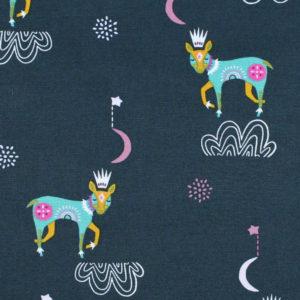 Art Gallery Fabrics Lugu Sleep Tight Nightfall