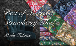 Moda Fabrics Best of Morris Collection Strawberry Thief