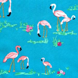 Art Gallery Fabrics West Palm Flamingo Field Marina