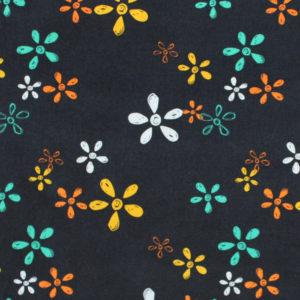 Art Gallery Fabrics Sisu Willful Buds Chalkboard