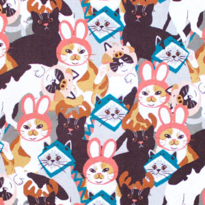 Paintbrush Studio Fabrics Hats for Cats 120-208101 Cat in Hats