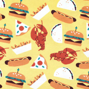 Paintbrush Studio Fabrics Food Trucks 120-209401 Foods Yellow