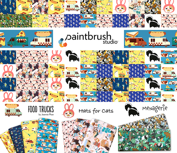 Paintbrush Studio Fabrics 取り扱い開始