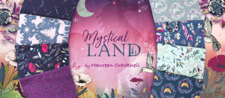 Art Gallery Fabrics Mystical Land Collection by Maureen Cracknell