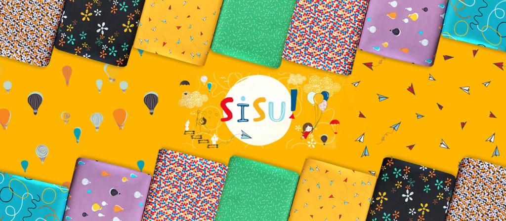 Art Gallery Fabrics Sisu Collection by AGF Studio