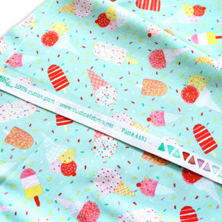 Studio E Fabrics Summerlicious 4481-66 Ice Cream