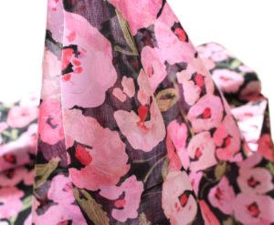 Cloud9 Fabrics Lush 217301 Pink Poppies
