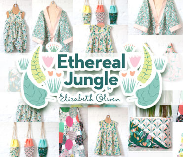 Cloud9 Fabrics Ethereal Jungle Collection by Elizabeth Olwen