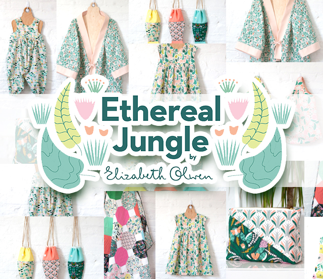 Cloud9 Fabrics Ethereal Jungle Collection 入荷
