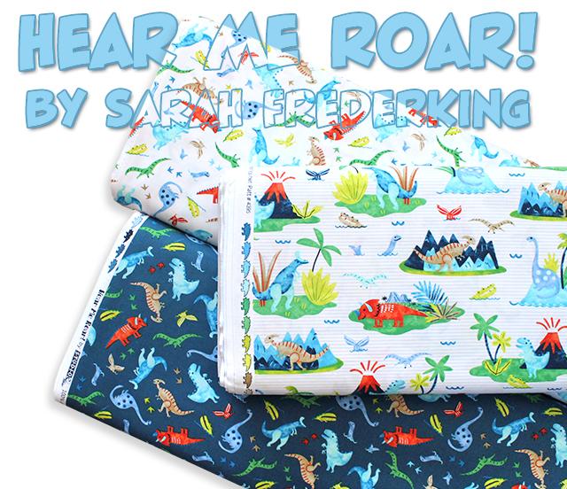Studio E Fabrics Hear Me Roar!