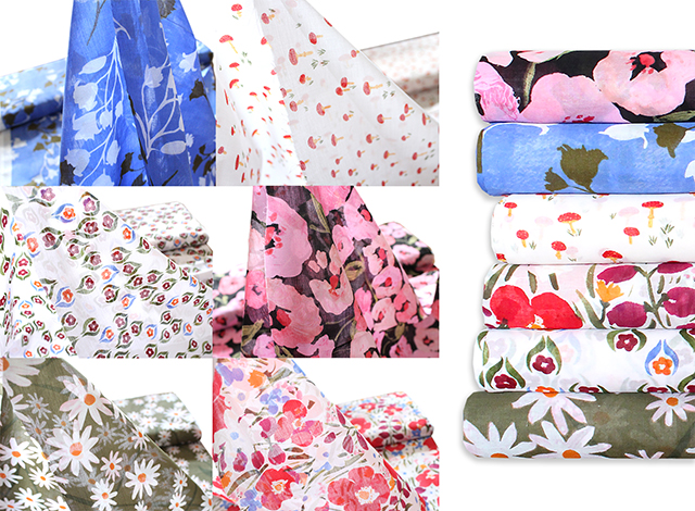 透け感にうっとり!Cloud9 Fabrics Lush Collection