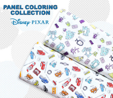 Camelot Fabrics Pixar Coloring Collection