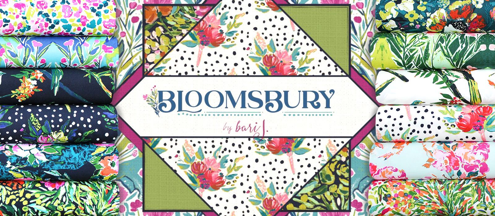 "知的で上品 Art Gallery Fabrics ""Bloomsbury"""