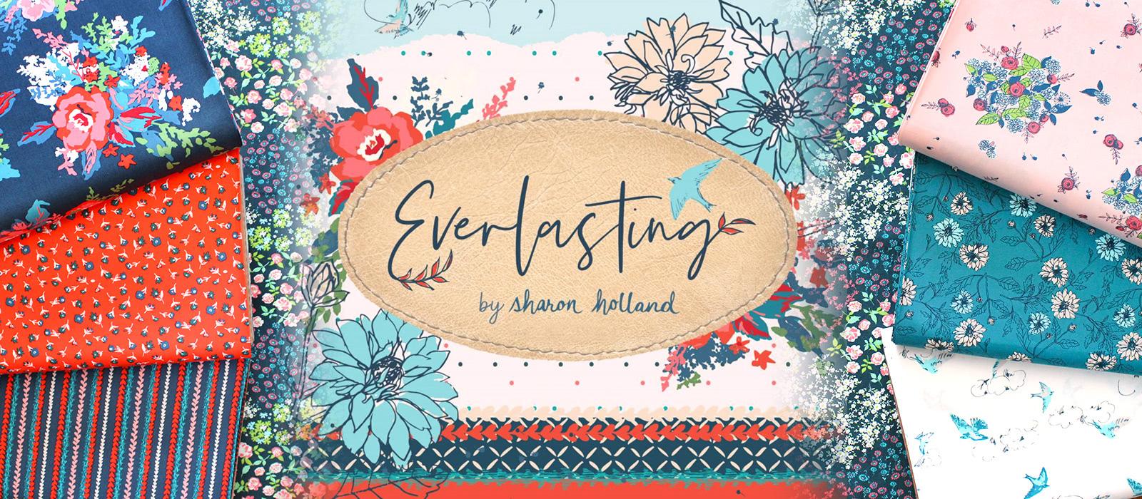 """愛溢れる情熱的なコレクション Art Gallery Fabrics """"Everlasting"""""""