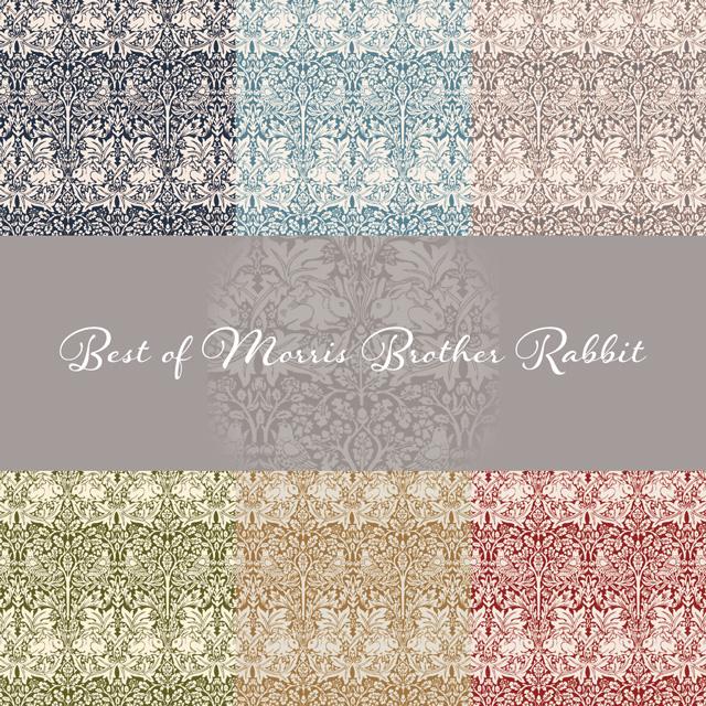 Moda Fabrics Best of Morris Brother Rabbit