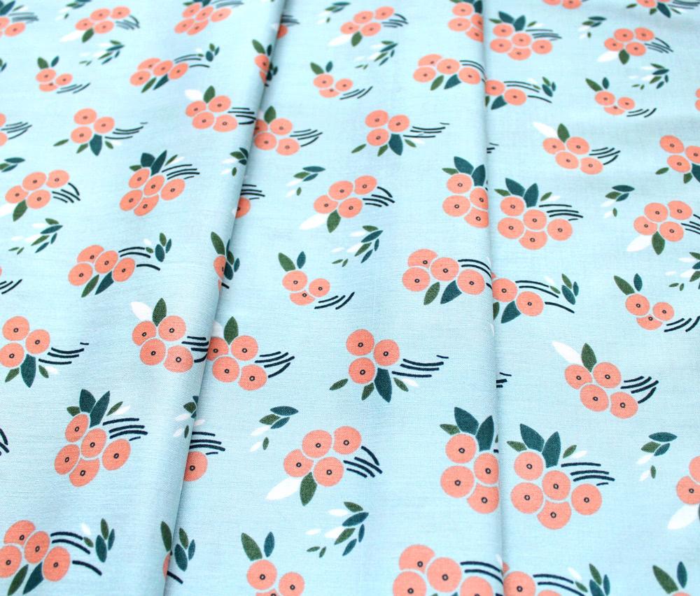 Cloud9 Fabrics Stockbridge 216001 Buck's Oak Blue