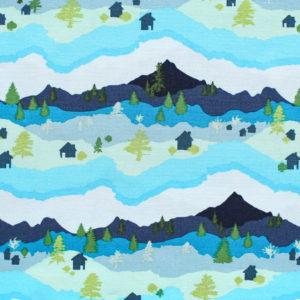 Art Gallery Fabrics Catch & Release Mountain Scape
