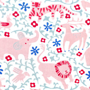 Birch Fabrics Enchanted Kingdom Hidden Flower Field Cream