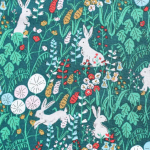 Cloud9 Fabrics Natural Beauty 221401 Hethersett Hares