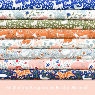Birch Fabrics Enchanted Kingdom Collection by Kristen Balouch