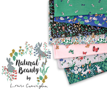 Cloud9 Fabrics Natural Beauty Collection by Louise Cunningham