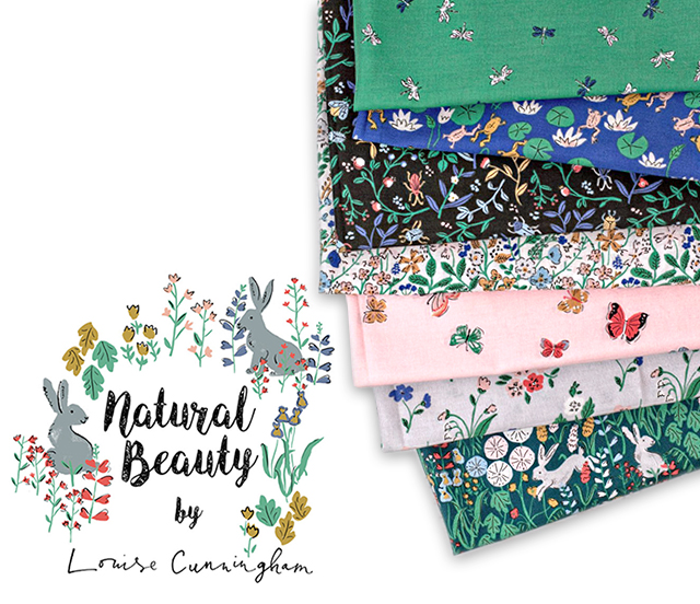 Cloud9 Fabrics Natural Beauty Collection 入荷