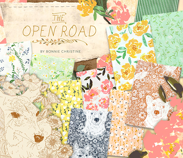 Art Gallery Fabrics The Open Road Collection 入荷