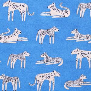 Art Gallery Fabrics Selva Fierce Felines Fresh