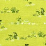 Art Gallery Fabrics Dew & Moss Gnomes Mushroom Homes
