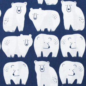 Dashwood Studio Laska 1542 Polar Bear Navy