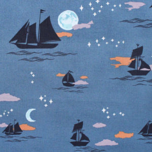 Art Gallery Fabrics Enchanted Voyage Offshore Dream Shadow