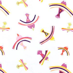 Art Gallery Fabrics Kushukuru Bright Indiza