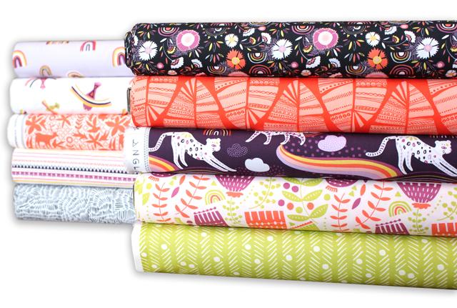 """愛溢れるポップな生地 Art Gallery Fabrics """"Kushukuru"""""""